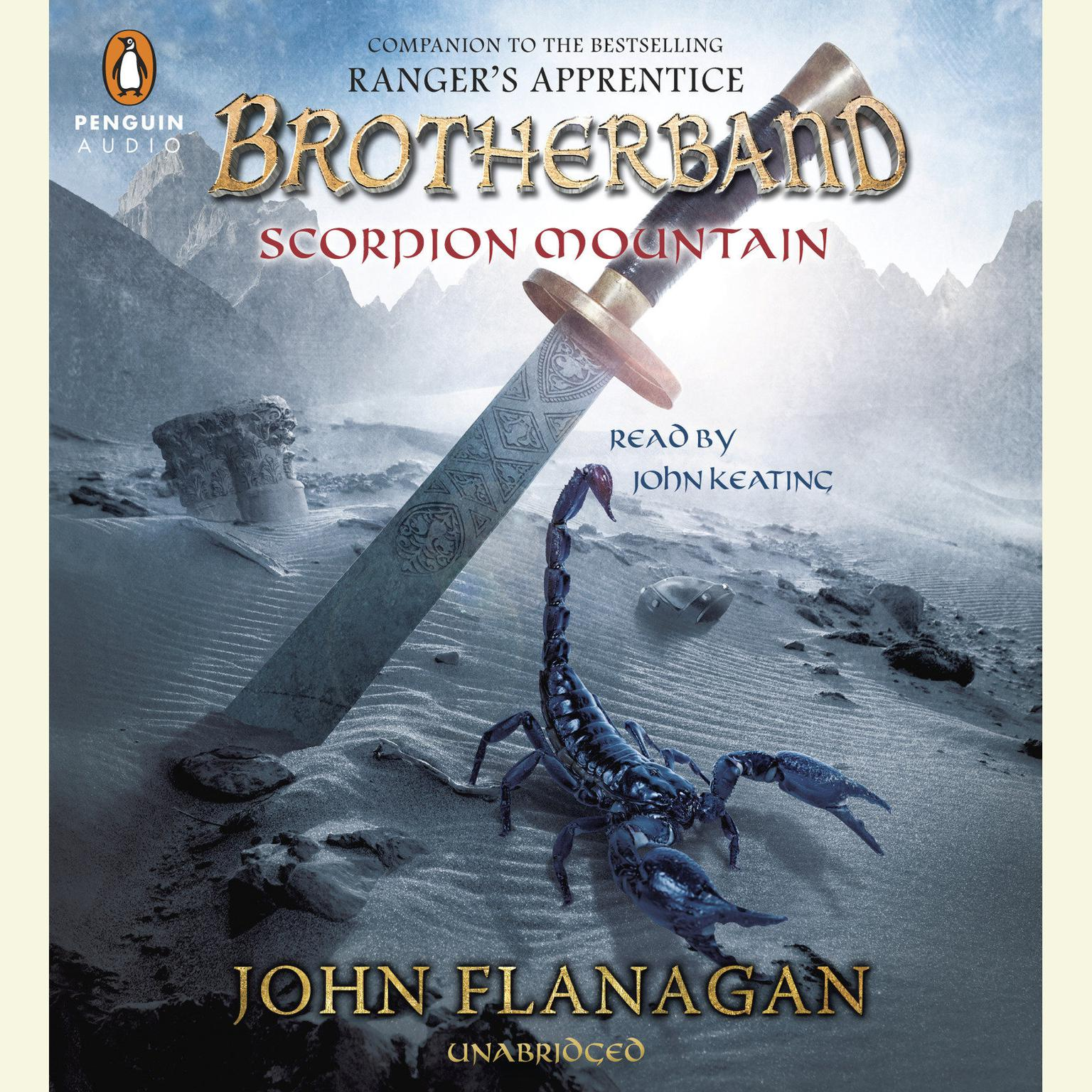 Printable Scorpion Mountain Audiobook Cover Art