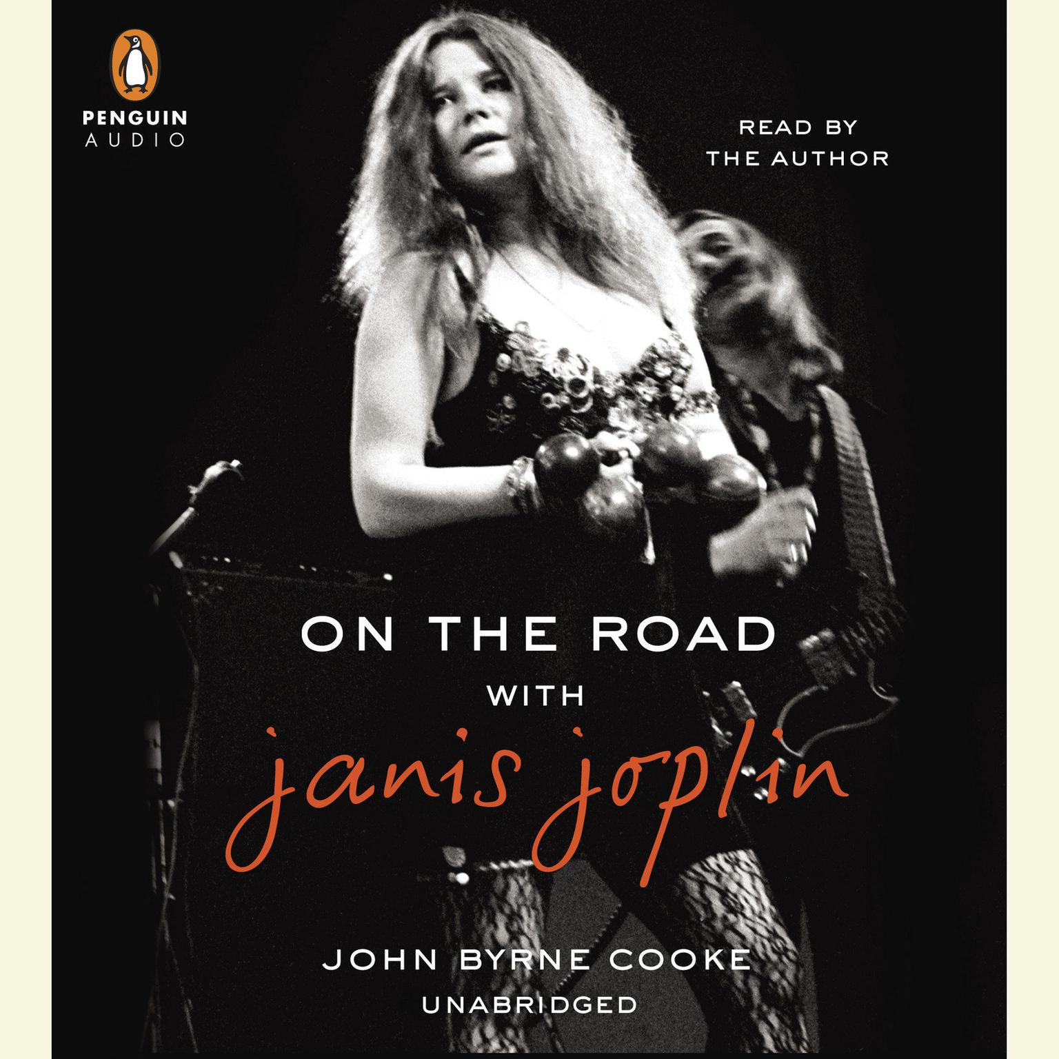 Printable On the Road with Janis Joplin Audiobook Cover Art