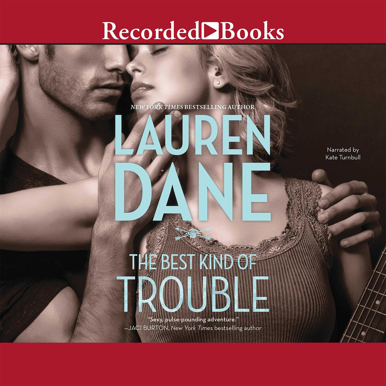 Printable The Best Kind of Trouble Audiobook Cover Art