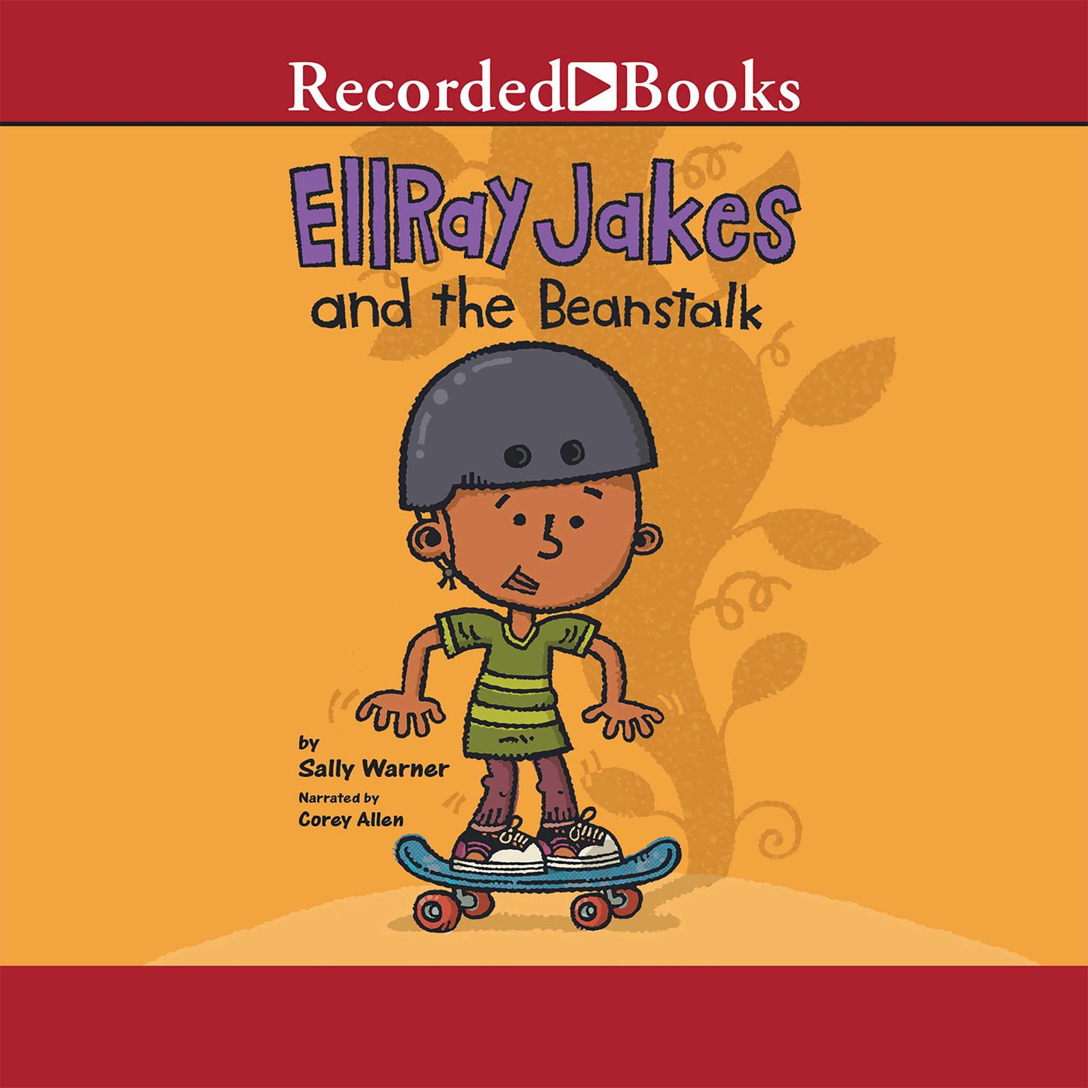 Printable EllRay Jakes and the Beanstalk Audiobook Cover Art