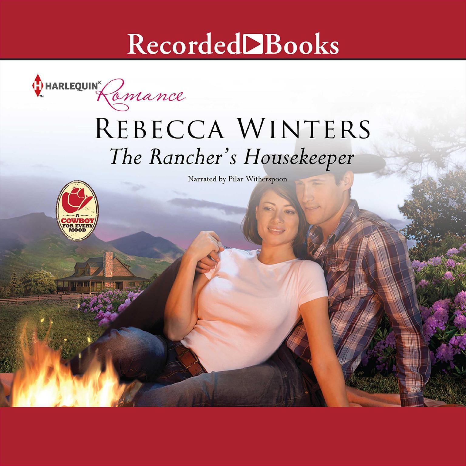 Printable The Rancher's Housekeeper Audiobook Cover Art