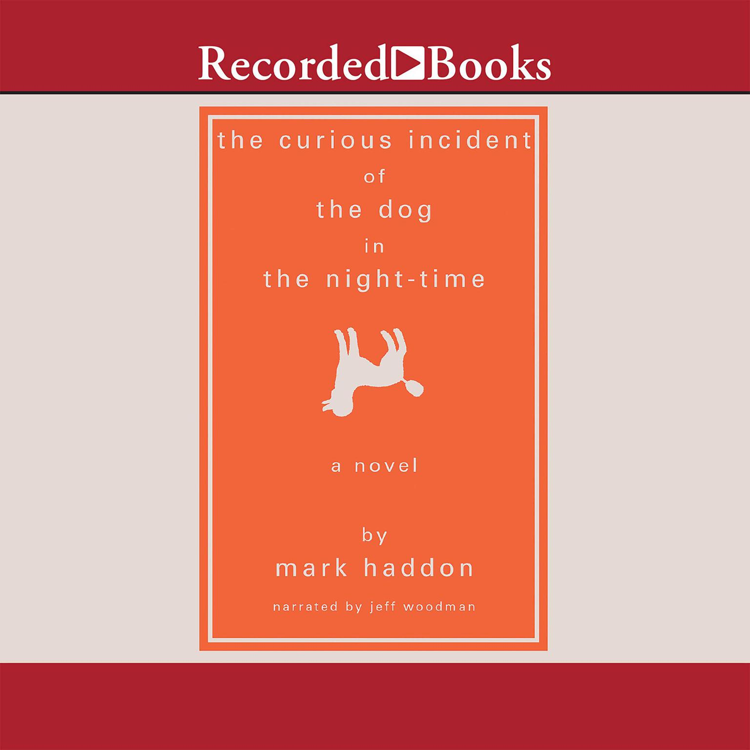 Printable The Curious Incident of the Dog in the Night-Time Audiobook Cover Art