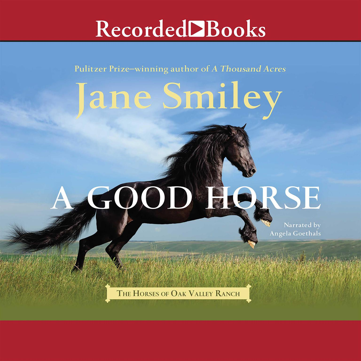 Printable A Good Horse Audiobook Cover Art