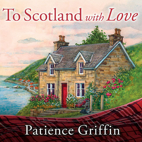 Printable To Scotland with Love Audiobook Cover Art