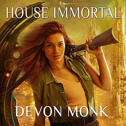 Printable House Immortal Audiobook Cover Art
