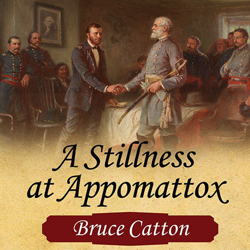 Printable A Stillness at Appomattox Audiobook Cover Art