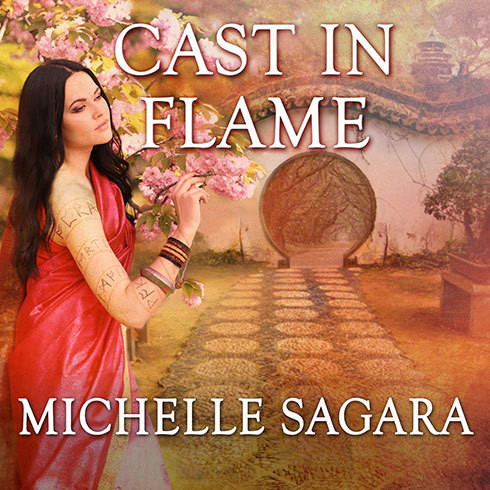 Printable Cast in Flame Audiobook Cover Art