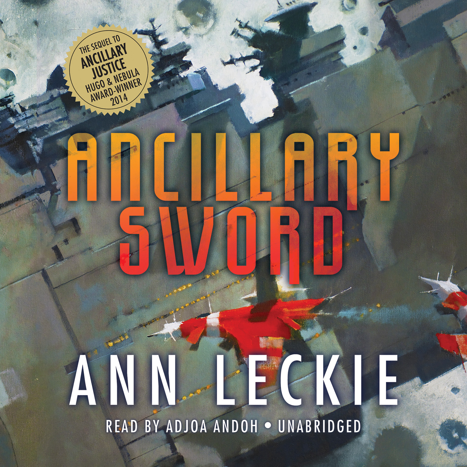Printable Ancillary Sword Audiobook Cover Art
