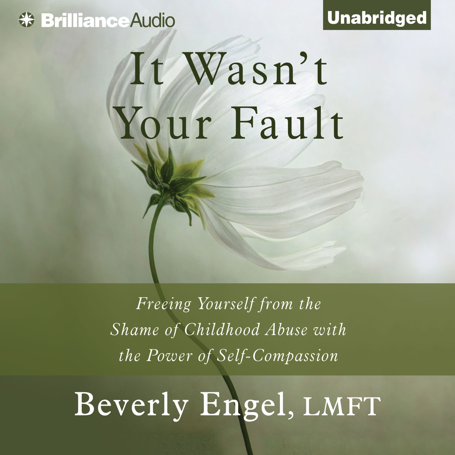 Printable It Wasn't Your Fault: Freeing Yourself from the Shame of Childhood Abuse with the Power of Self-Compassion Audiobook Cover Art