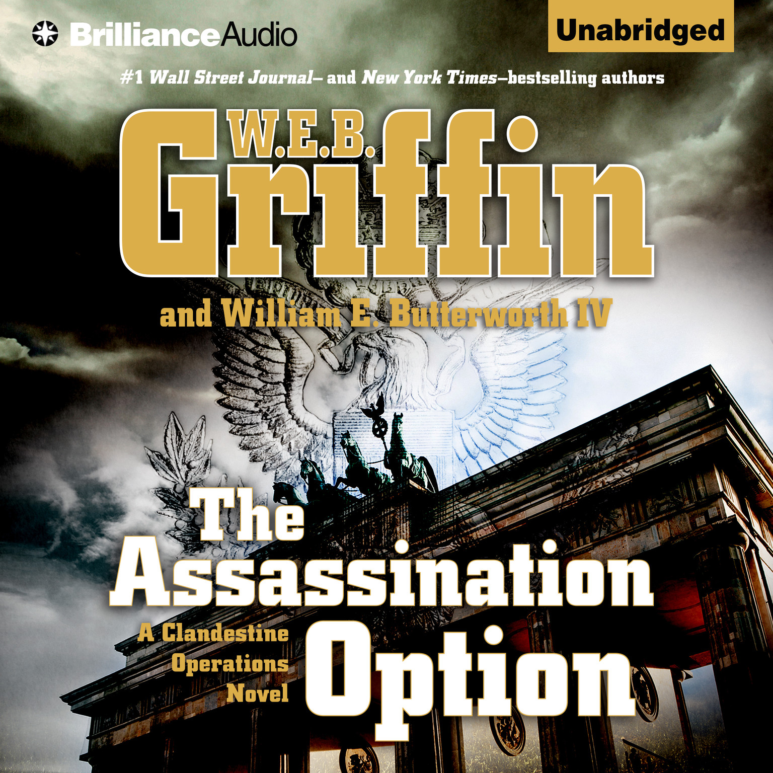 Printable The Assassination Option Audiobook Cover Art
