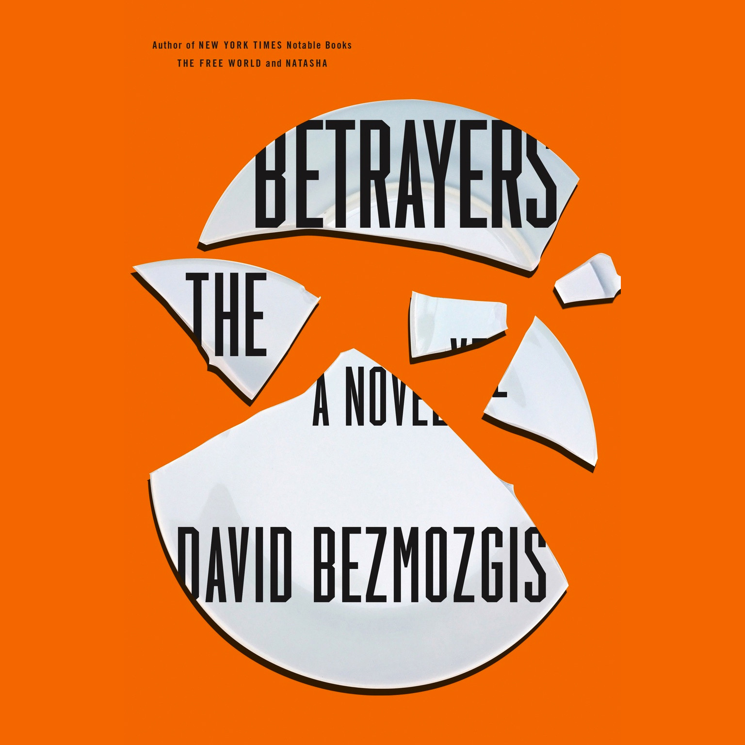 Printable The Betrayers: A Novel Audiobook Cover Art