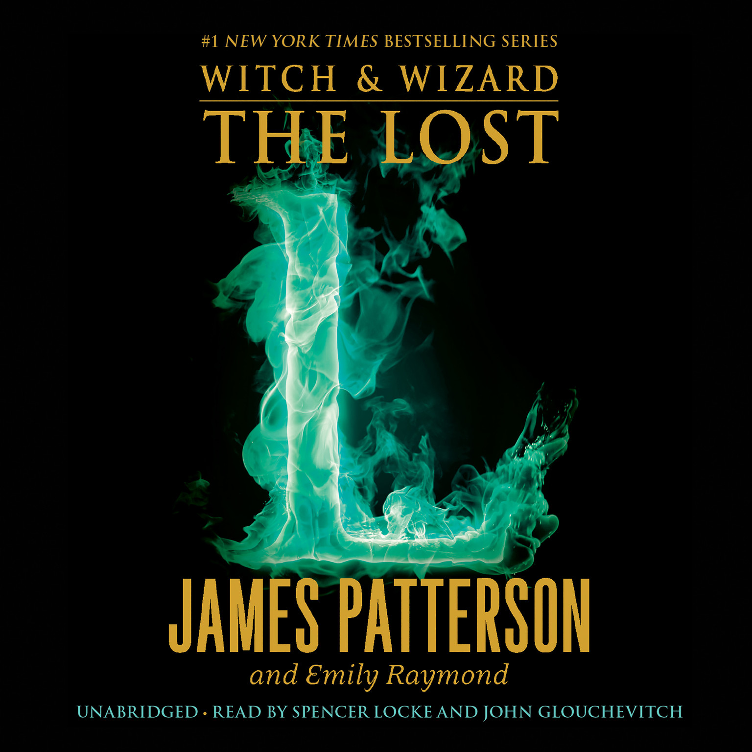 Printable The Lost Audiobook Cover Art