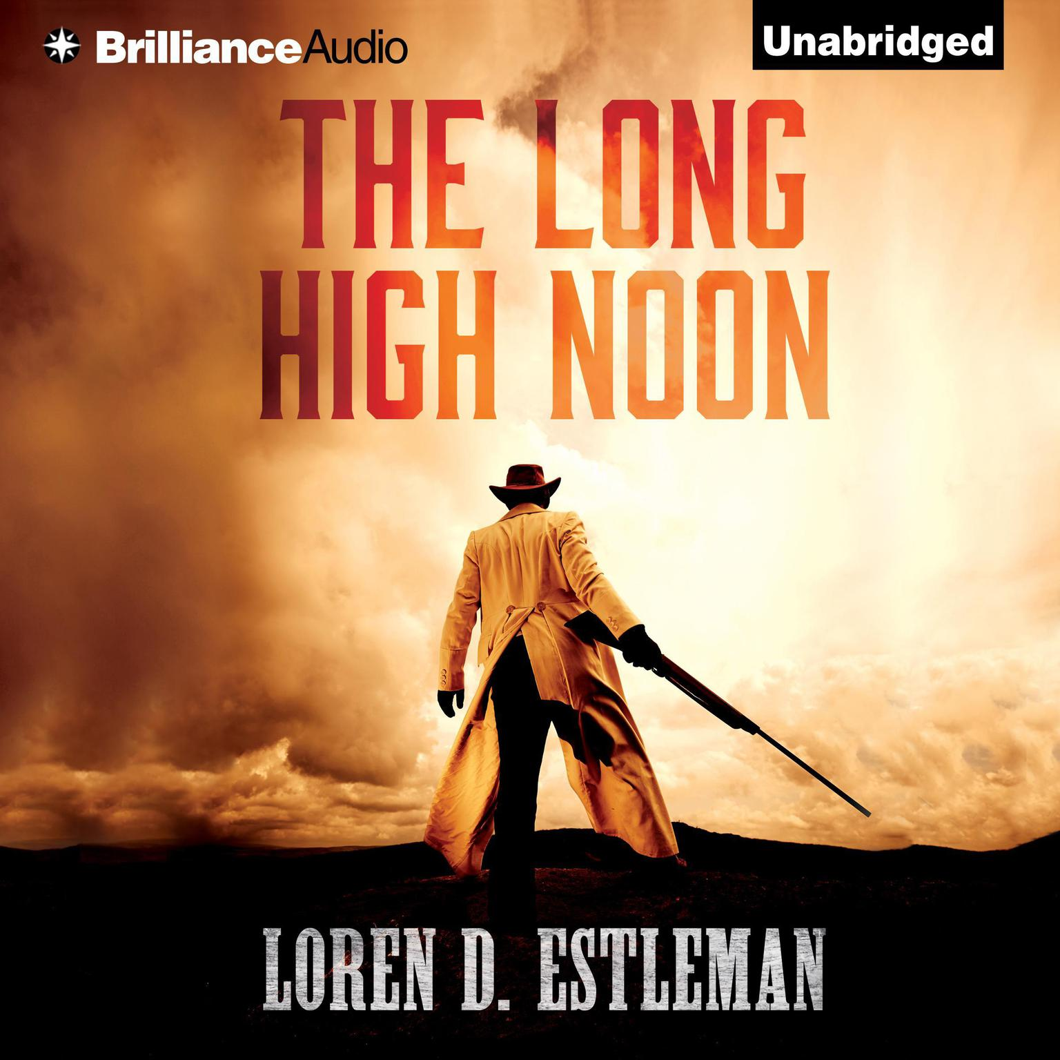 Printable The Long High Noon Audiobook Cover Art