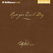 Hope for Each Day, Signature Edition: Words of Wisdom and Faith, by Billy Graham