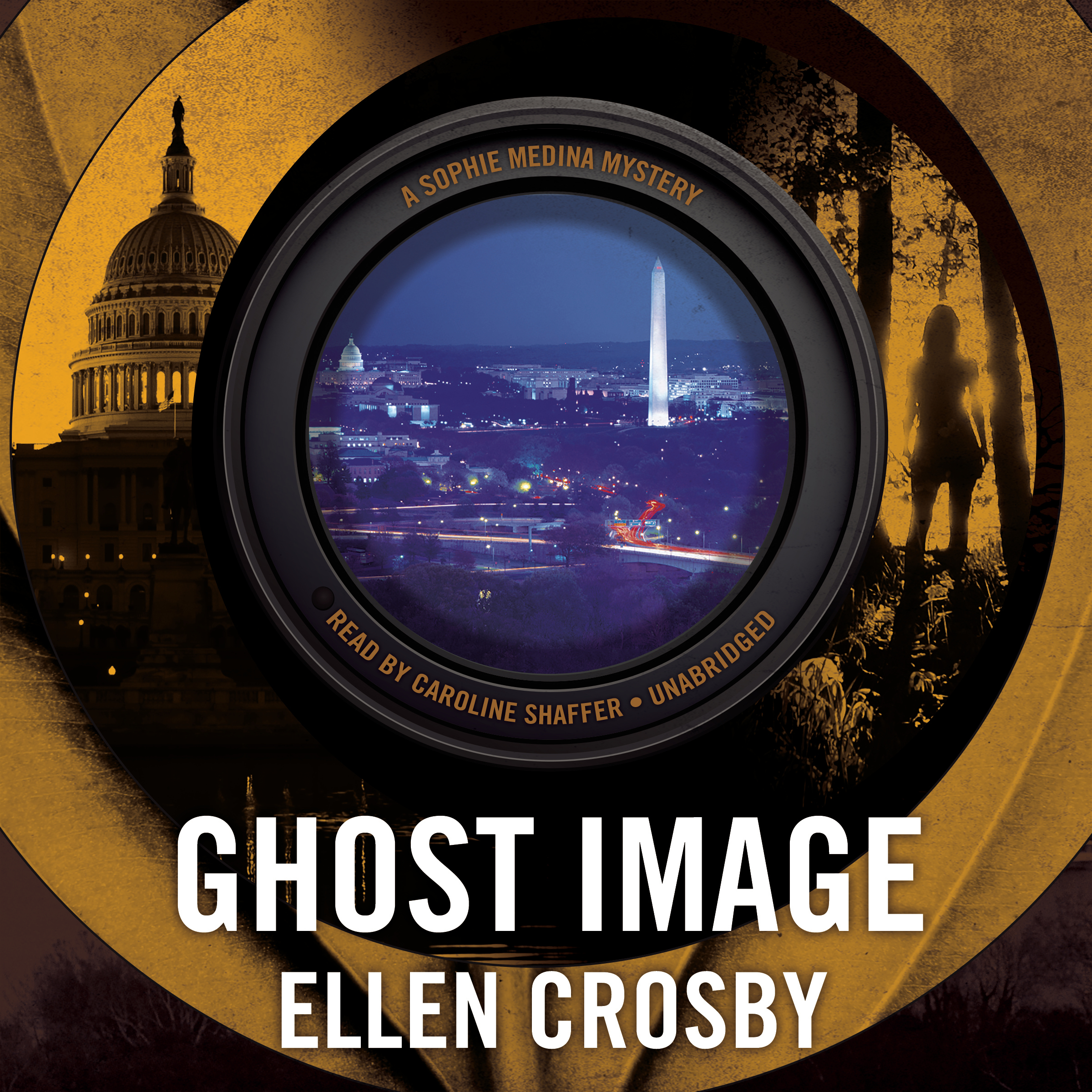 Printable Ghost Image: A Sophie Medina Mystery Audiobook Cover Art