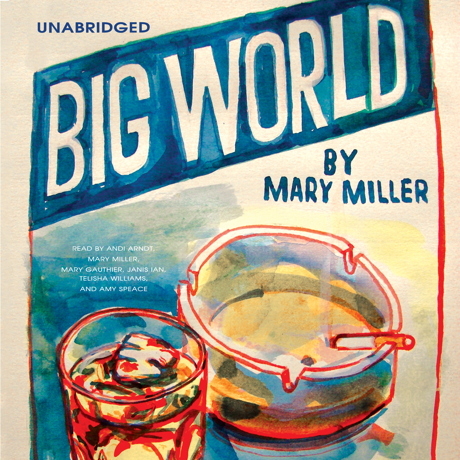 Printable Big World Audiobook Cover Art