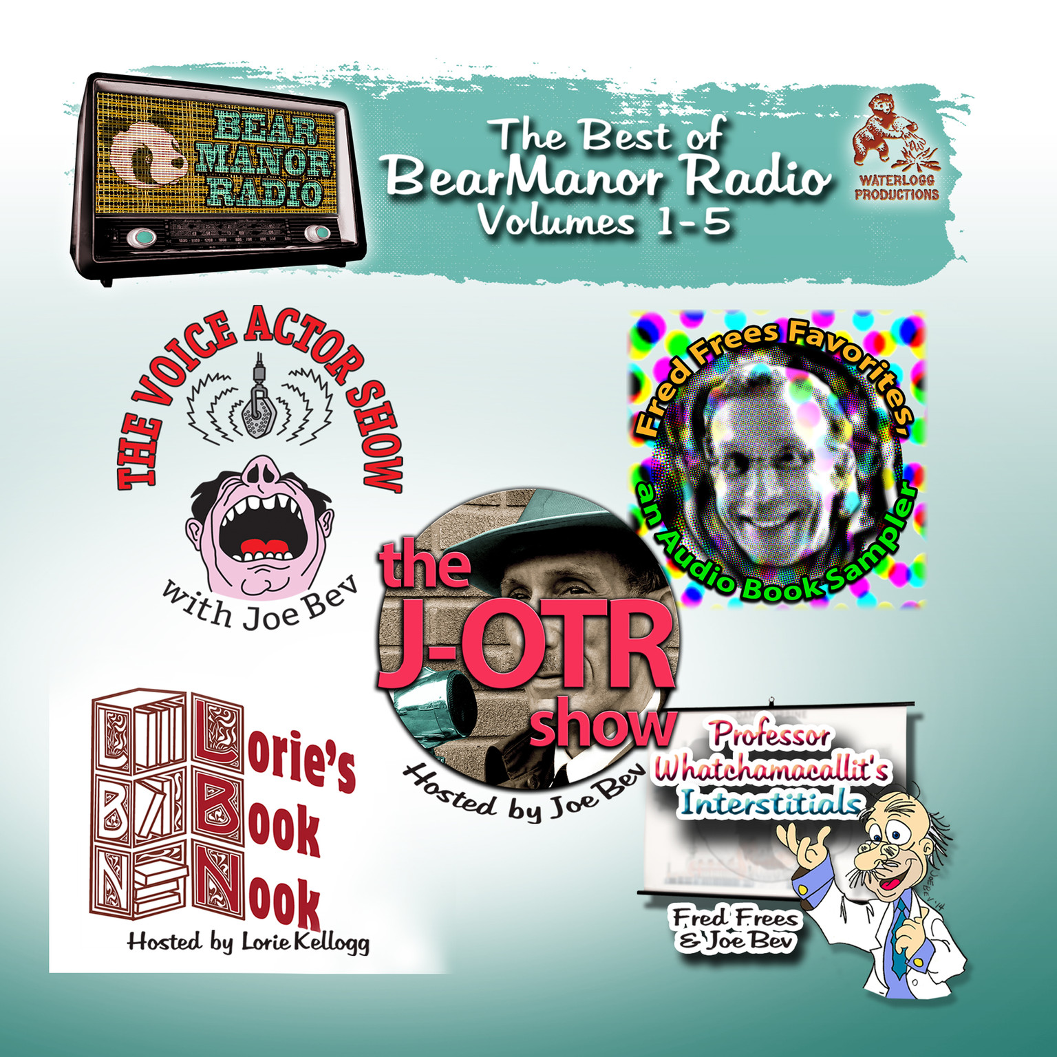 Printable The Best of BearManor Radio, Vols. 1–5 Audiobook Cover Art