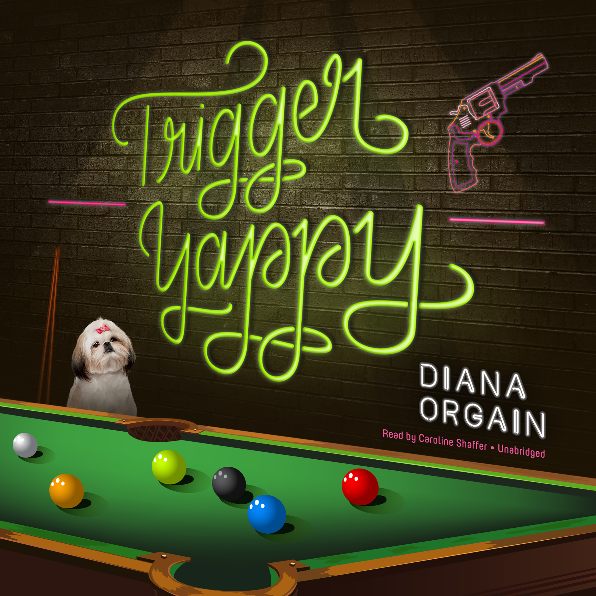 Printable Trigger Yappy Audiobook Cover Art