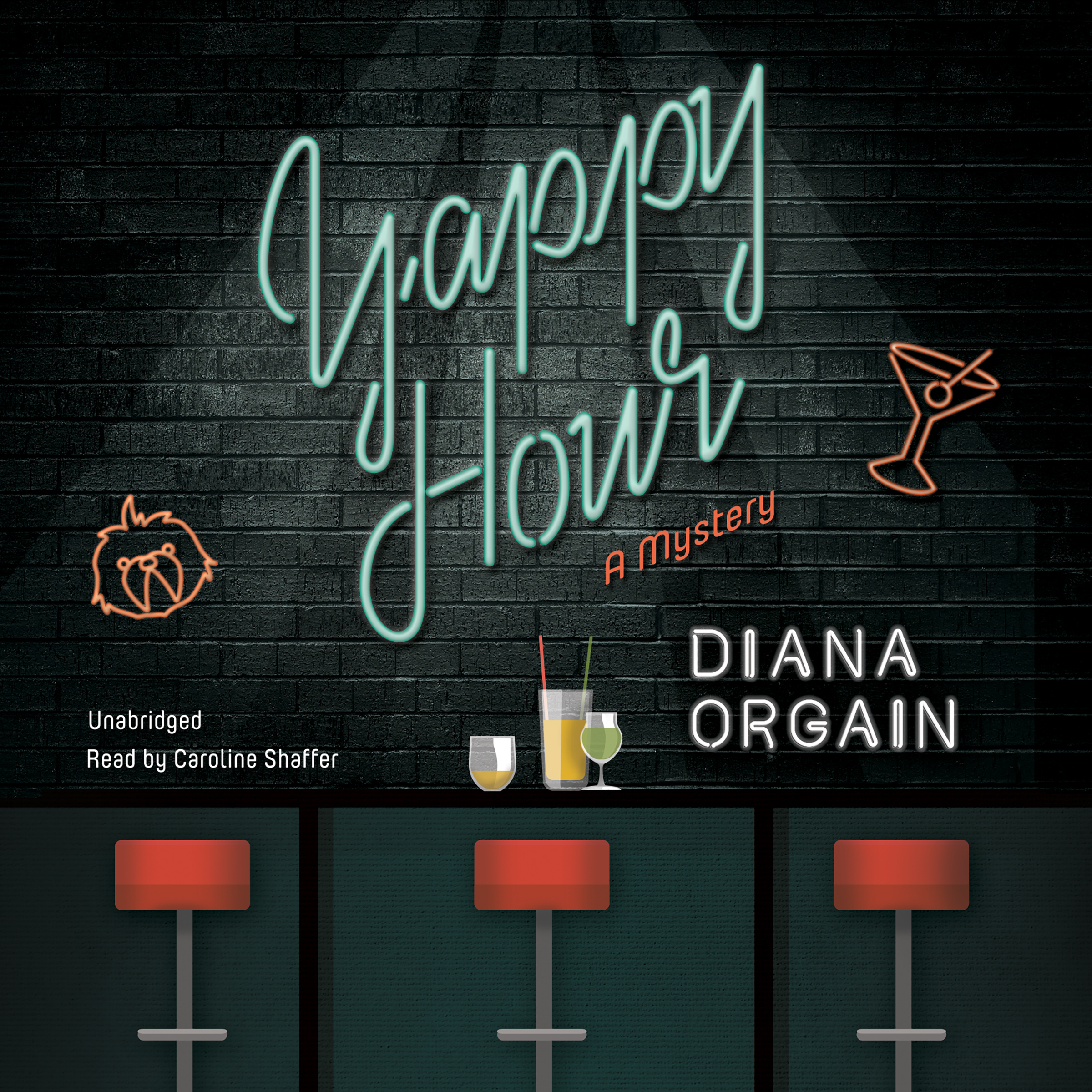 Printable Yappy Hour Audiobook Cover Art