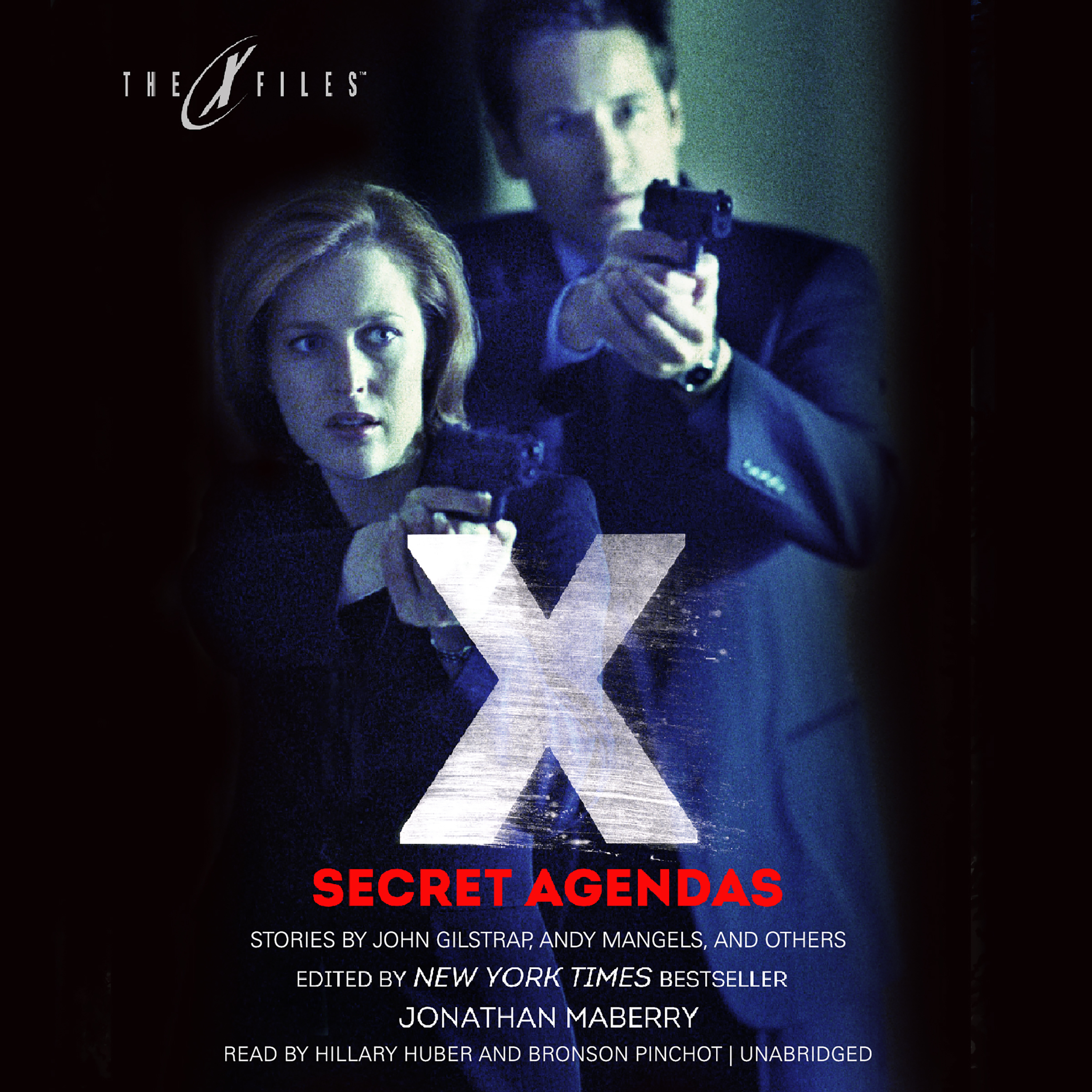 Printable Secret Agendas: X-Files, Volume Three Audiobook Cover Art