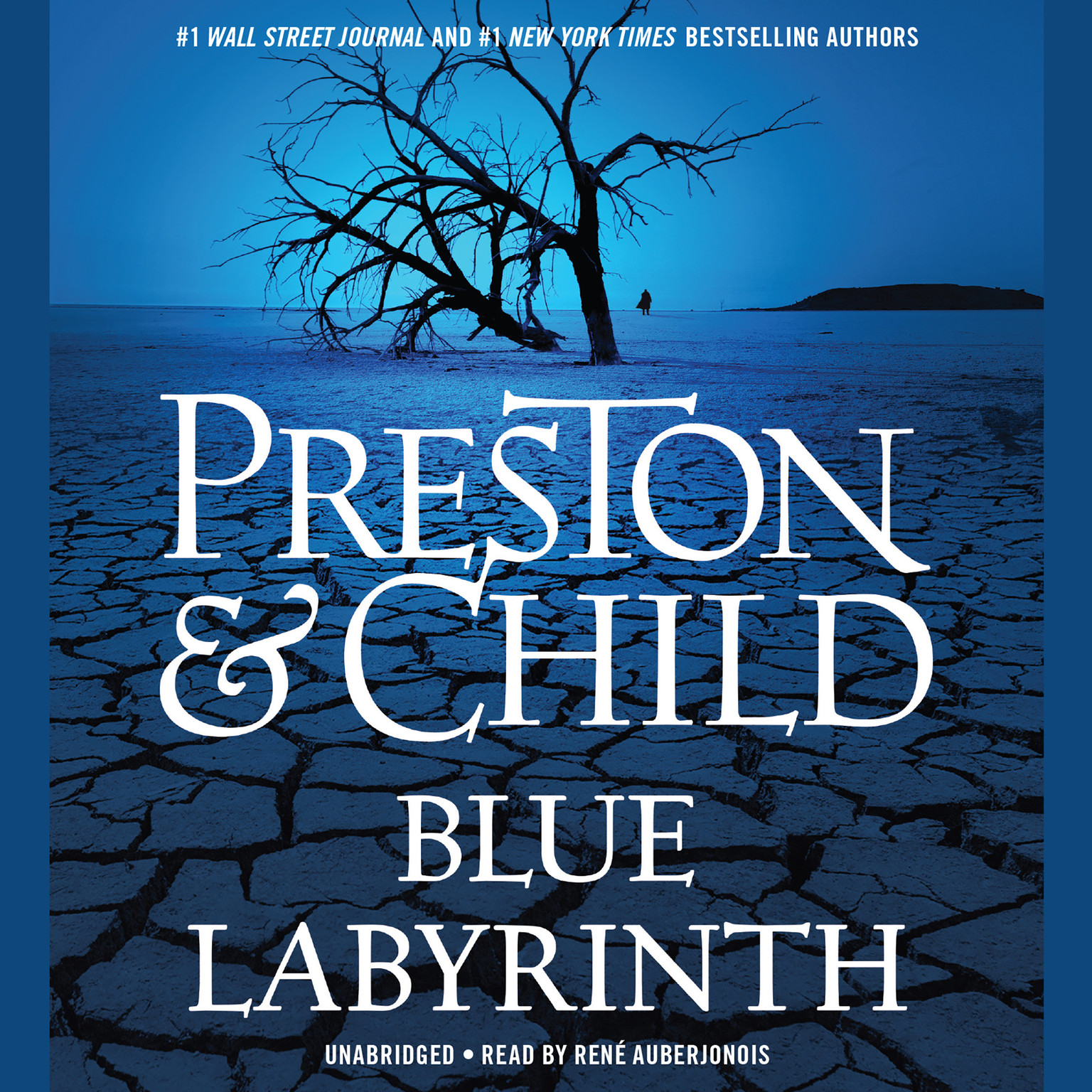 Printable Blue Labyrinth Audiobook Cover Art