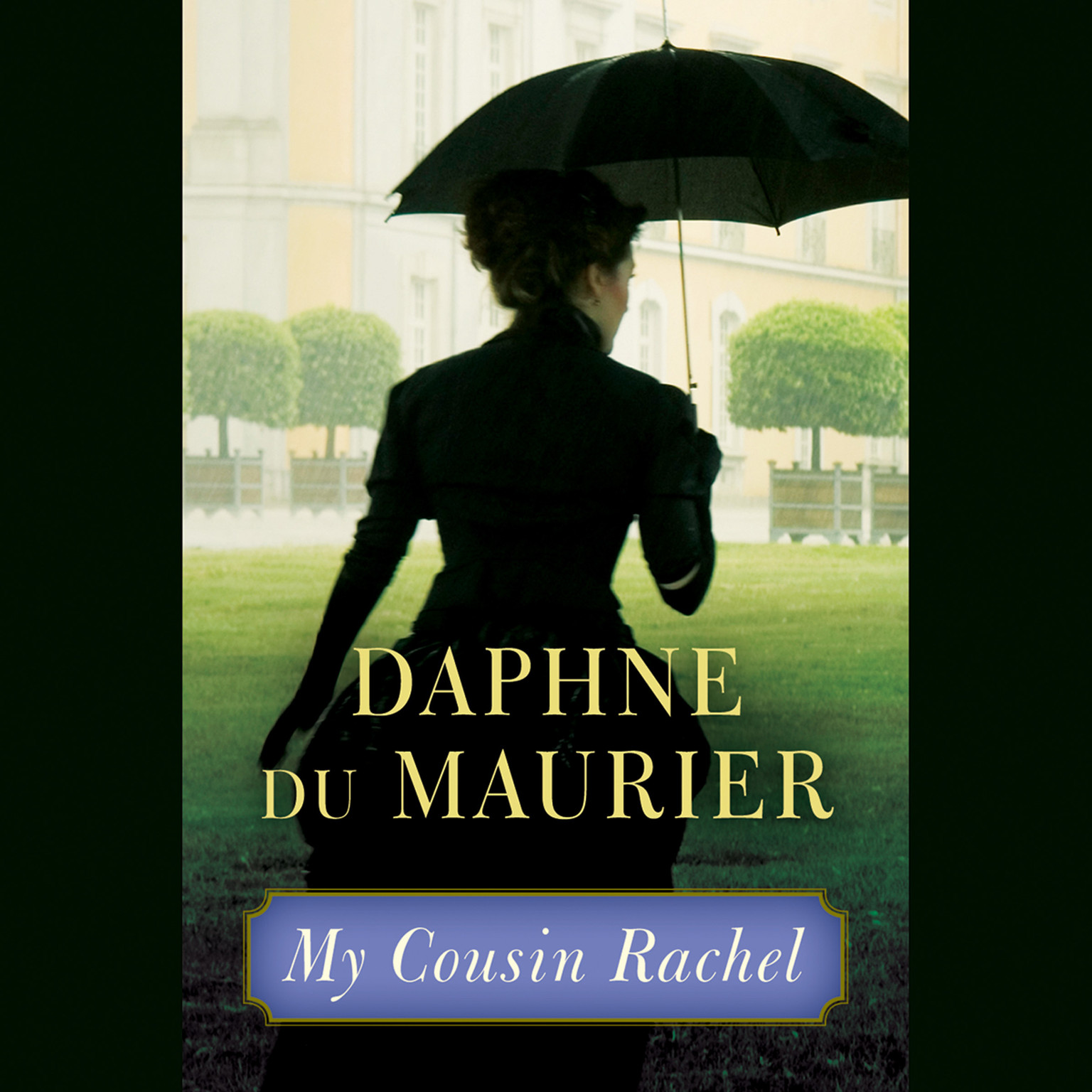 Printable My Cousin Rachel Audiobook Cover Art