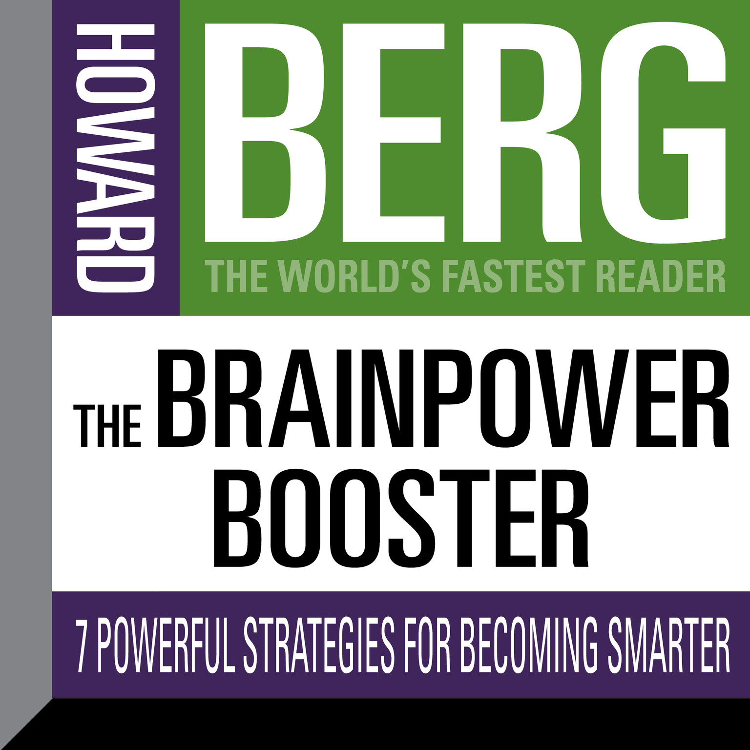 Printable The Brainpower Booster: Seven Powerful Strategies For Becoming Smarter Audiobook Cover Art