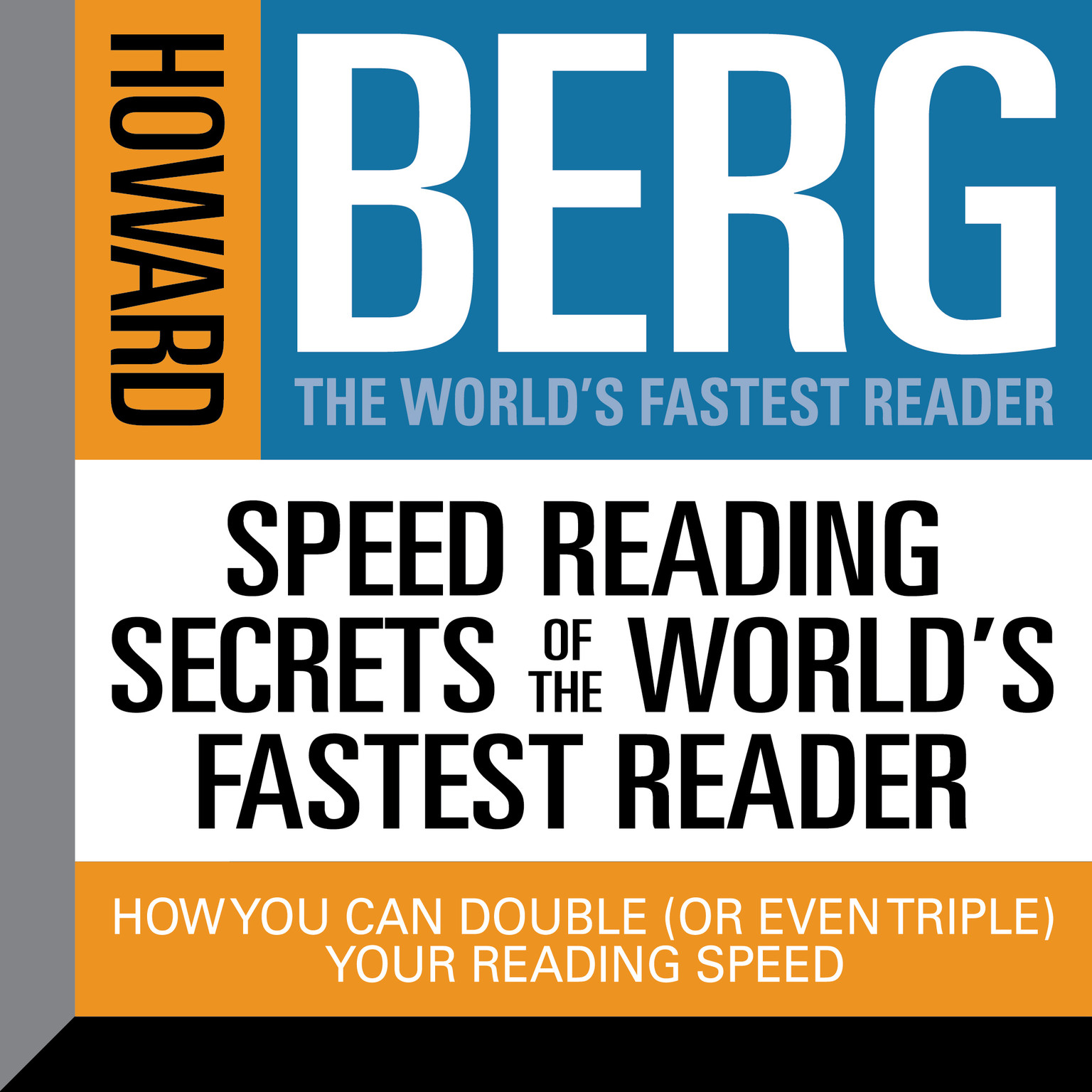 Printable Speed Reading Secrets of the World's Fastest Reader: How you could Double (or even triple) Your Reading Speed Audiobook Cover Art