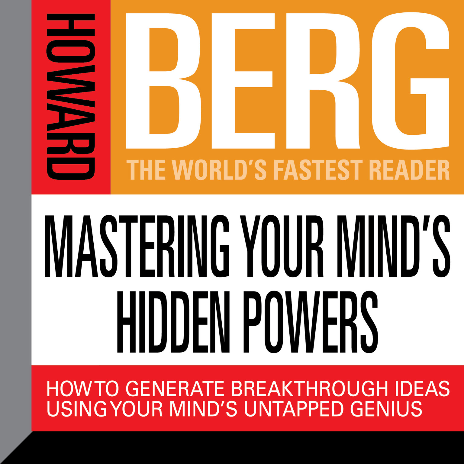 Printable Mastering Your Mind's Hidden Powers: How to Generate Breakthrough Ideas Using Your Mind's Untapped Genius Audiobook Cover Art