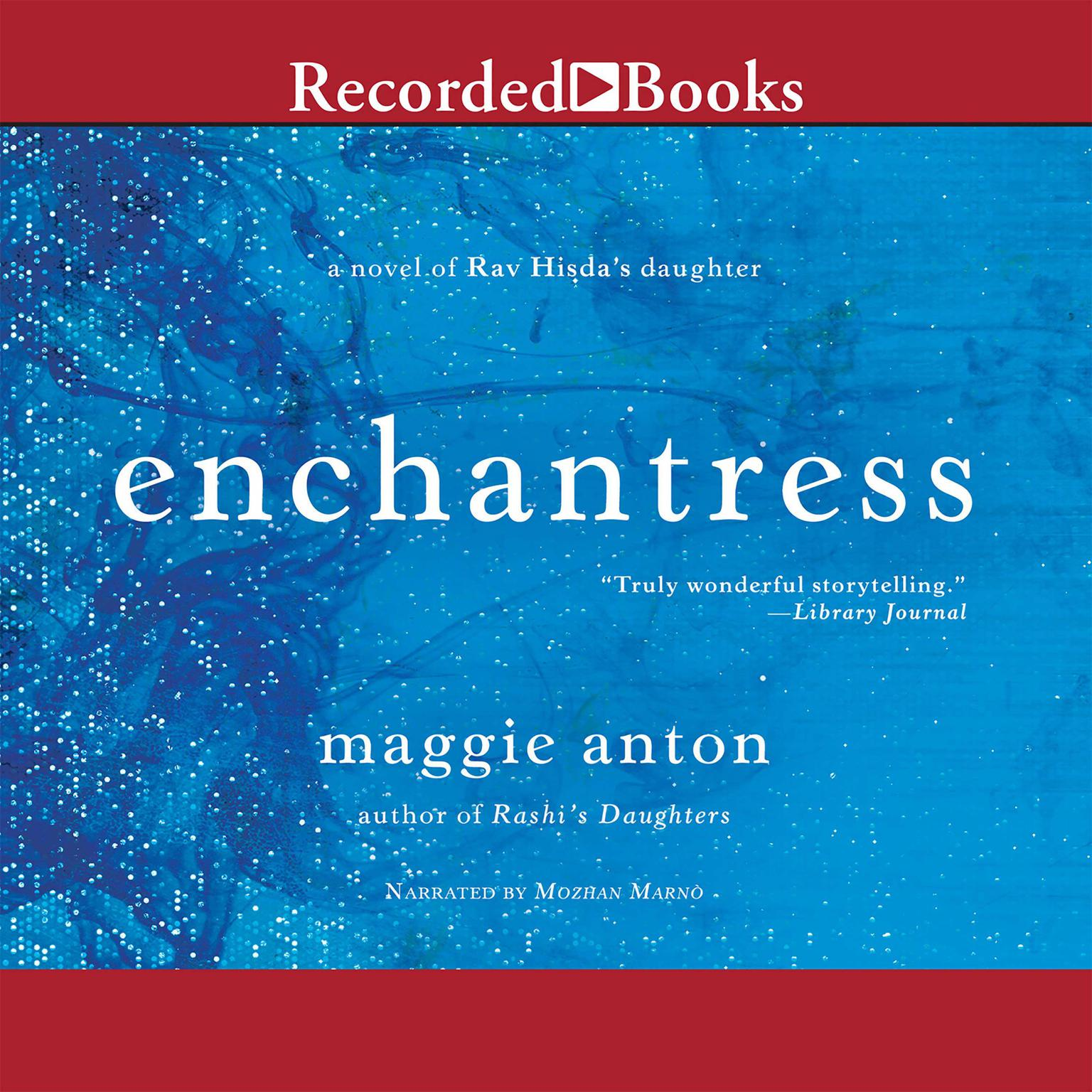 Printable Enchantress: A Novel of Rav Hisda's Daughter Audiobook Cover Art