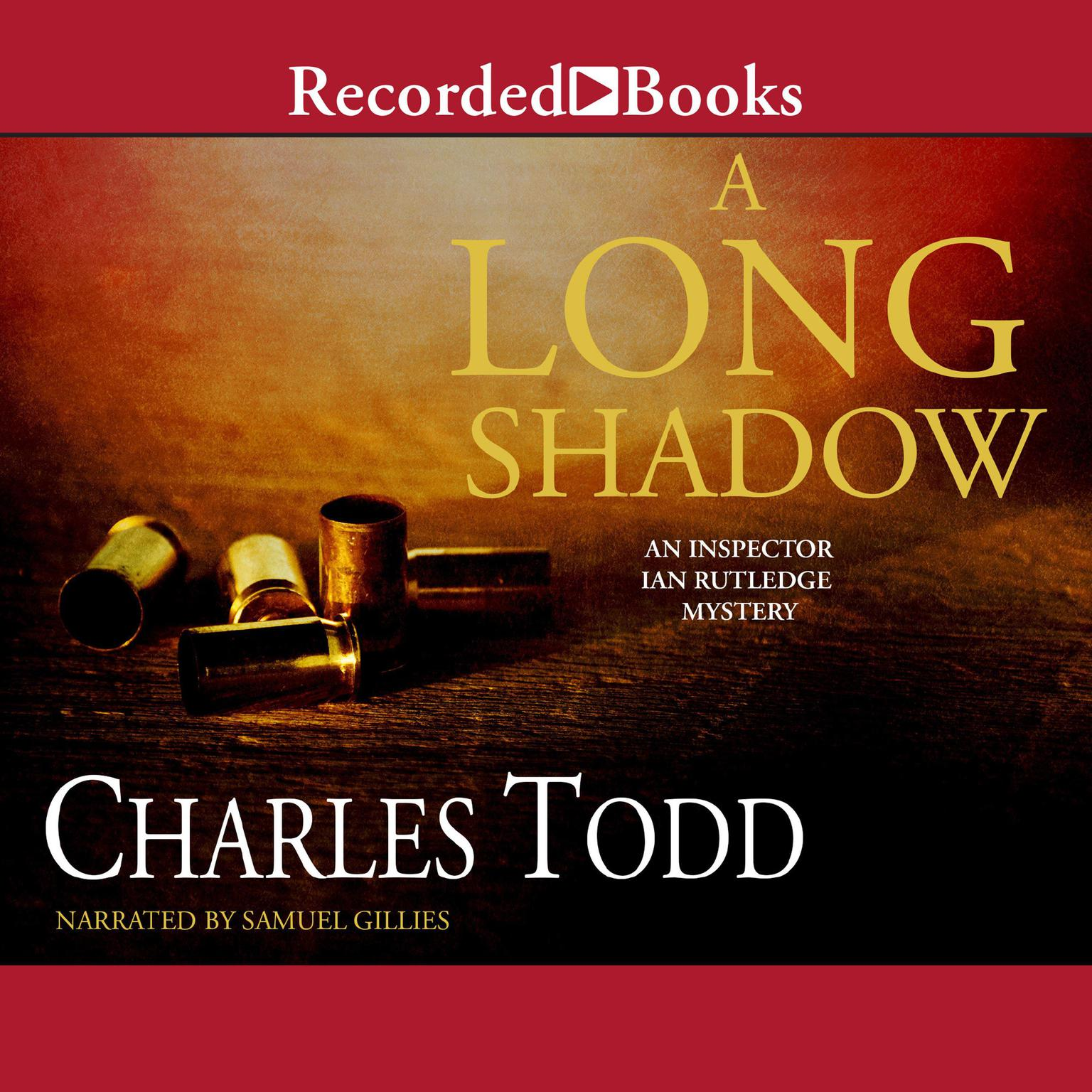 Printable A Long Shadow Audiobook Cover Art