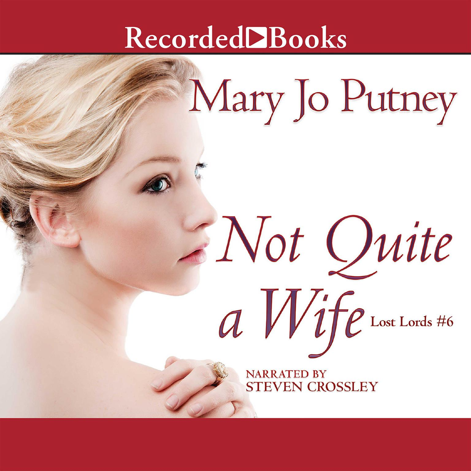 Printable Not Quite a Wife Audiobook Cover Art