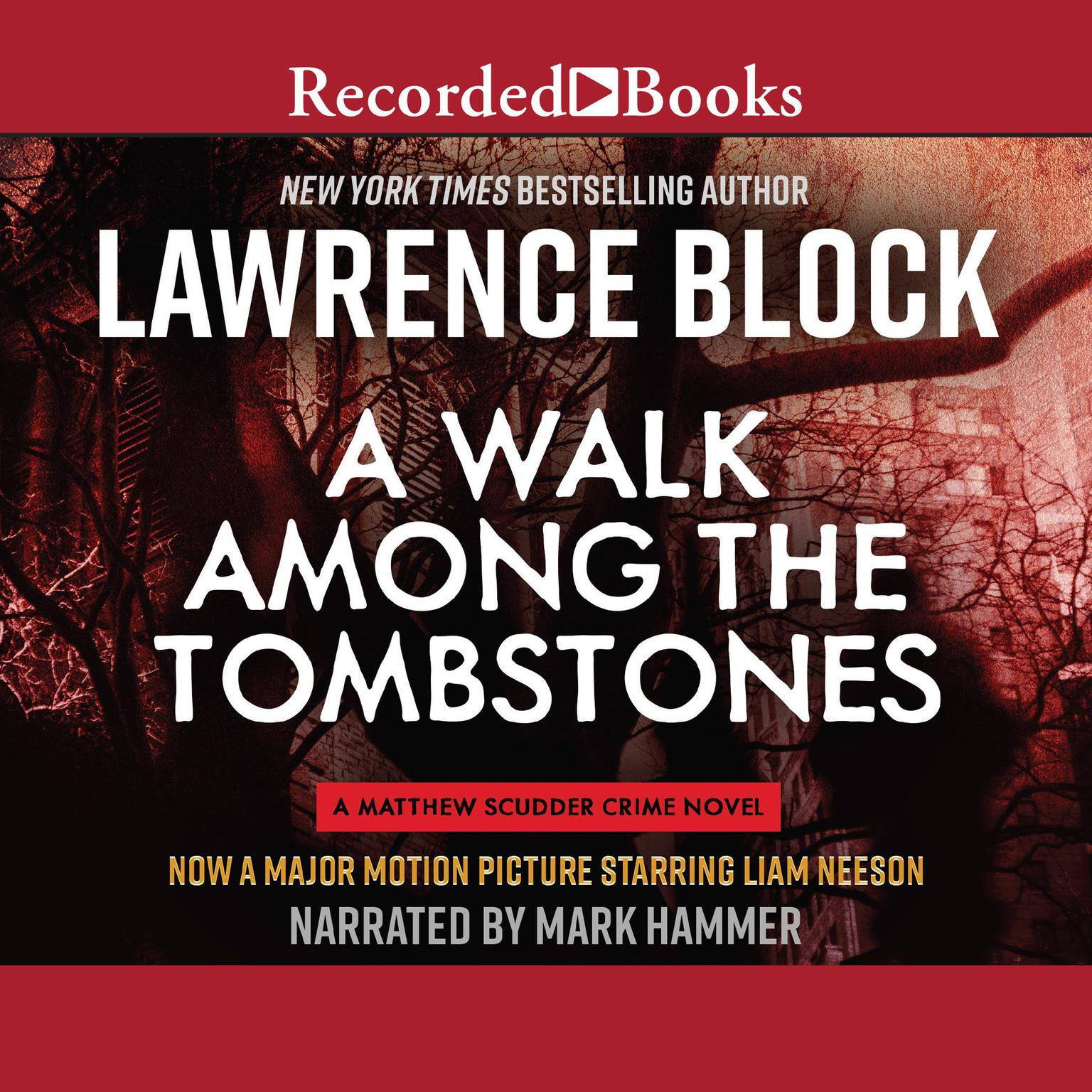 Printable A Walk Among the Tombstones Audiobook Cover Art