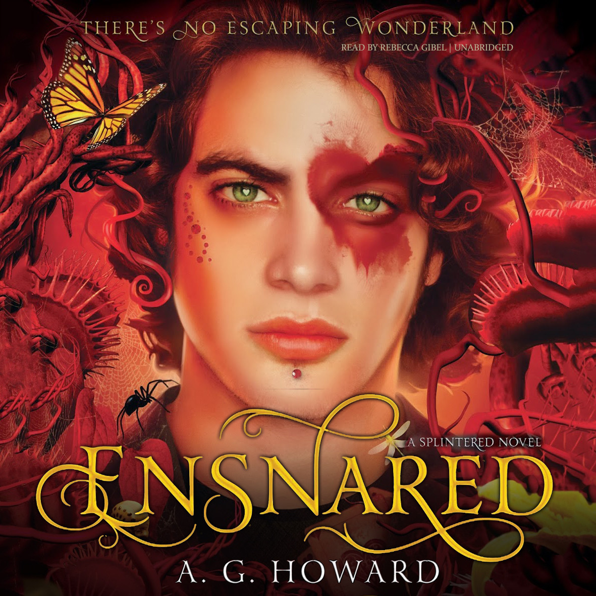 Printable Ensnared: A Novel Audiobook Cover Art