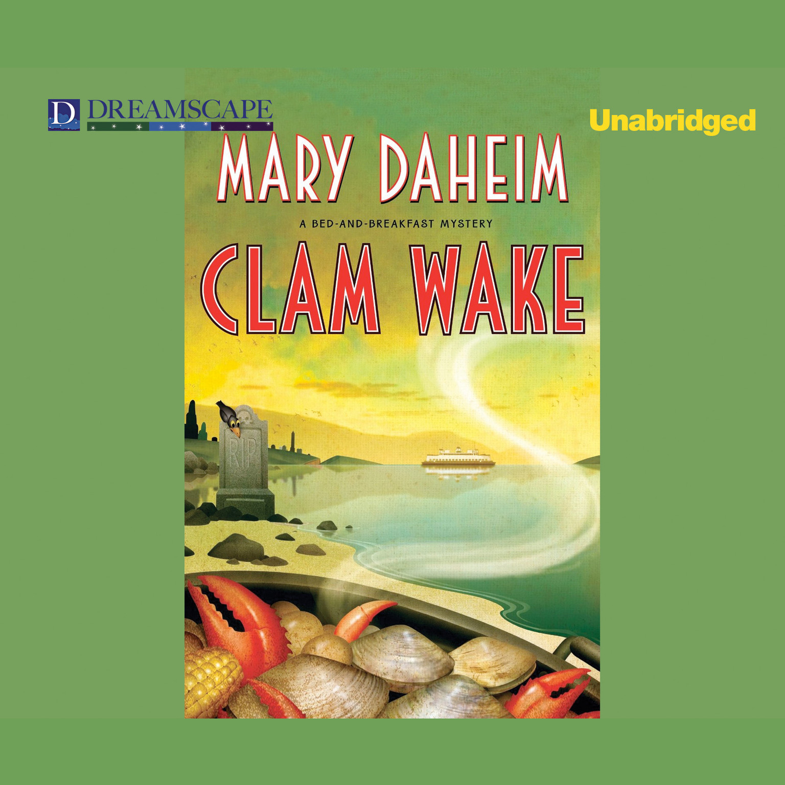 Printable Clam Wake: A Bed & Breakfast Mystery Audiobook Cover Art