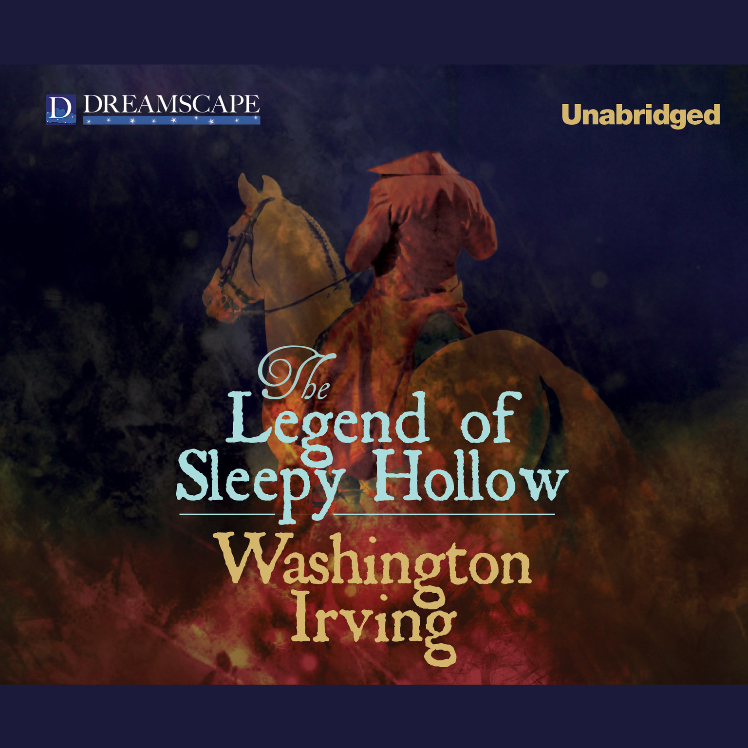 Printable The Legend of Sleepy Hollow Audiobook Cover Art