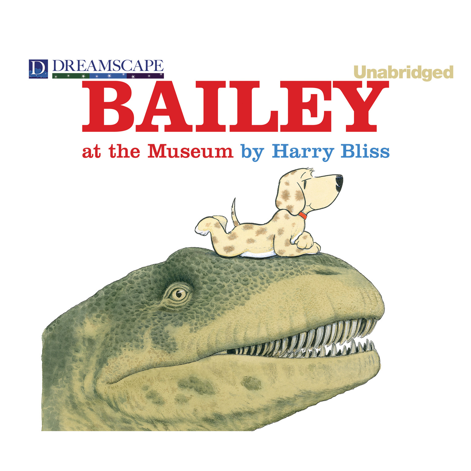 Printable Bailey at the Museum Audiobook Cover Art