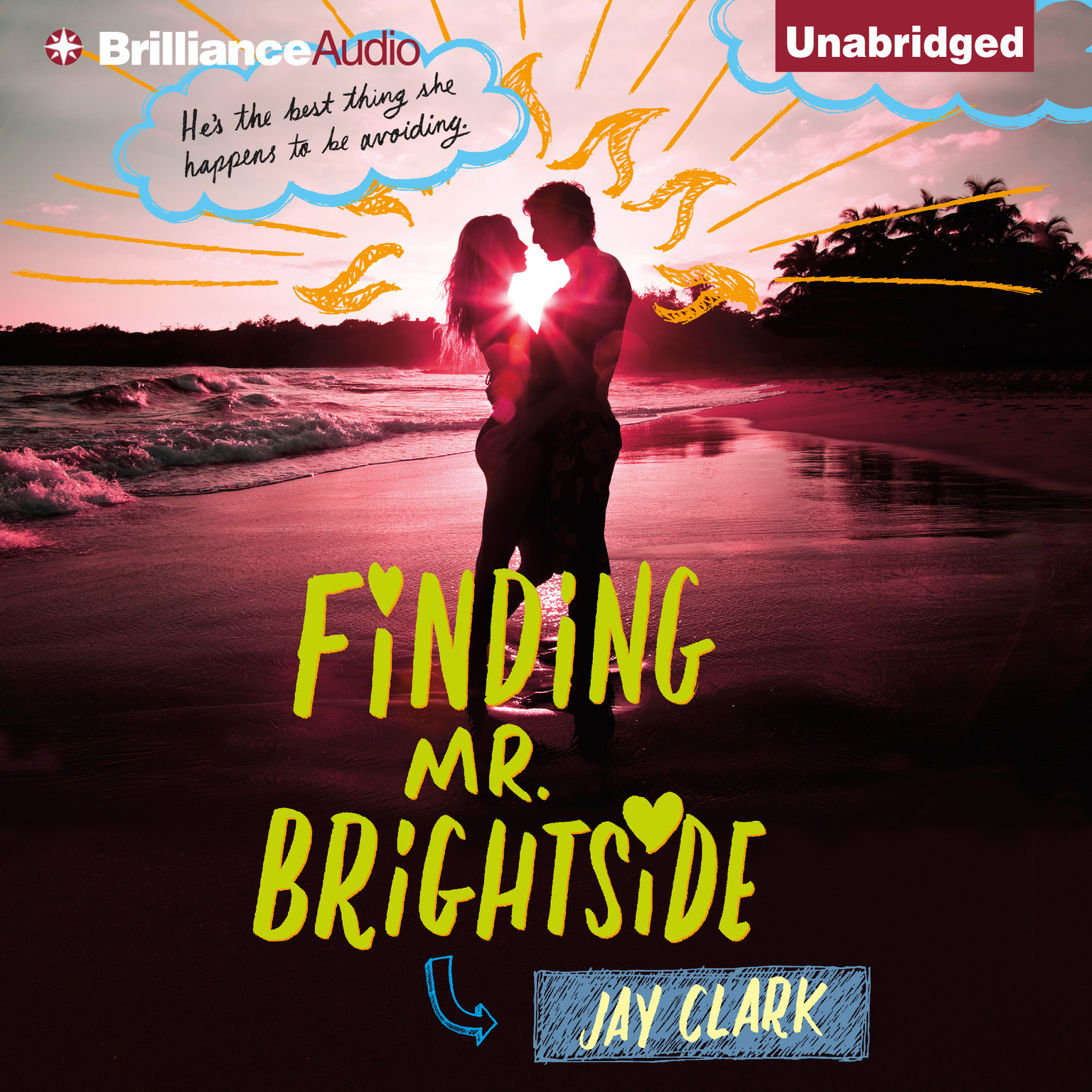 Printable Finding Mr. Brightside Audiobook Cover Art