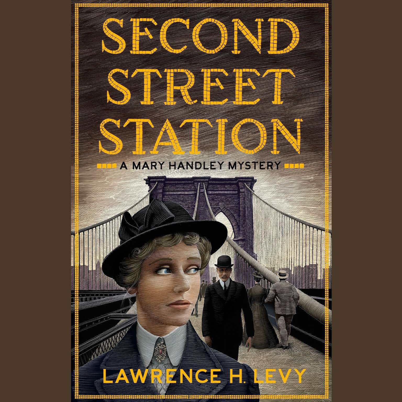 Printable Second Street Station: A Mary Handley Mystery Audiobook Cover Art