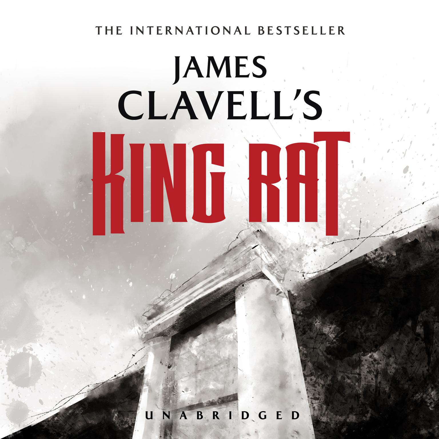 Printable King Rat: The Epic Novel of War and Survival Audiobook Cover Art