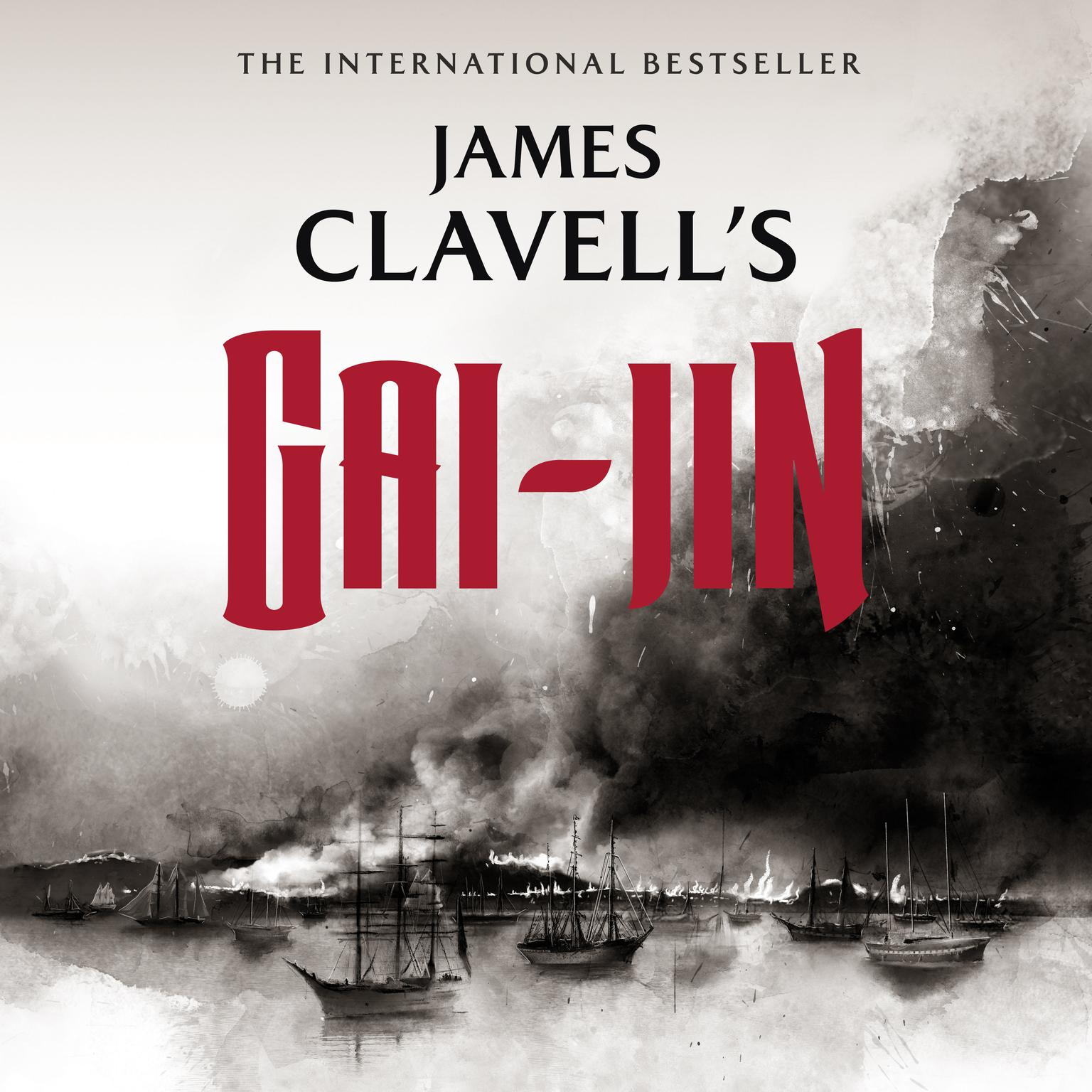 Printable Gai-Jin: The Epic Novel of the Birth of Modern Japan Audiobook Cover Art
