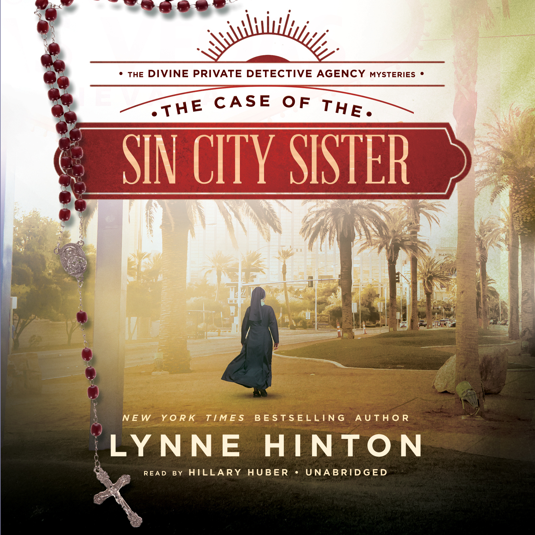 Printable The Case of the Sin City Sister: A Divine Private Detective Agency Mystery Audiobook Cover Art