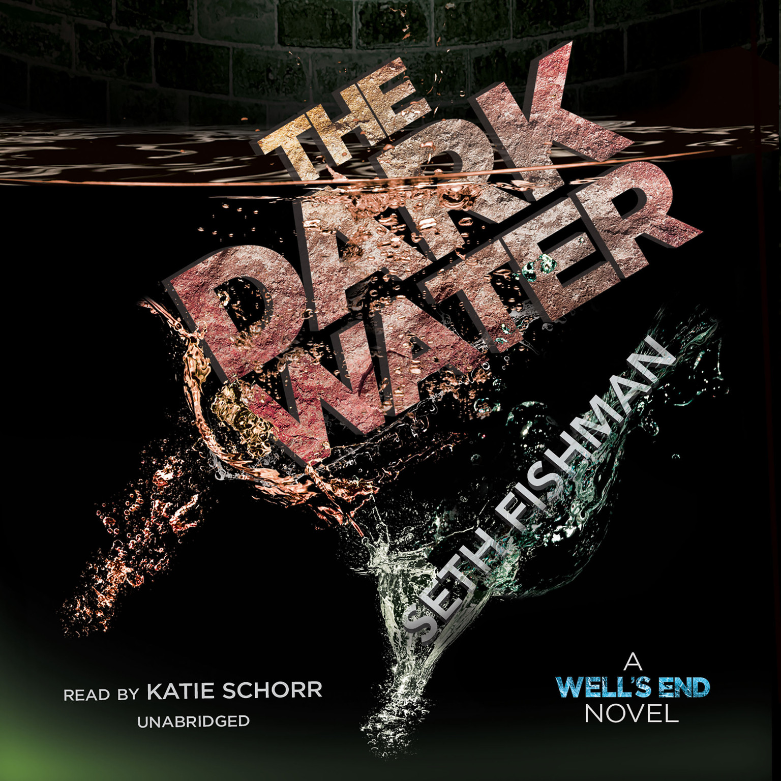 Printable The Dark Water Audiobook Cover Art