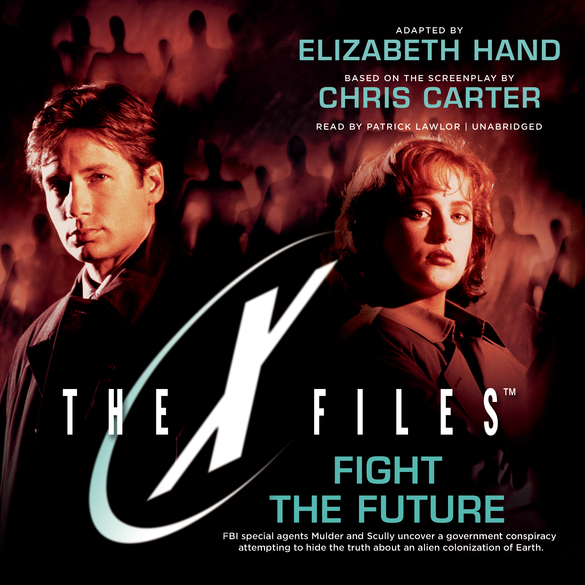 Printable Fight the Future Audiobook Cover Art