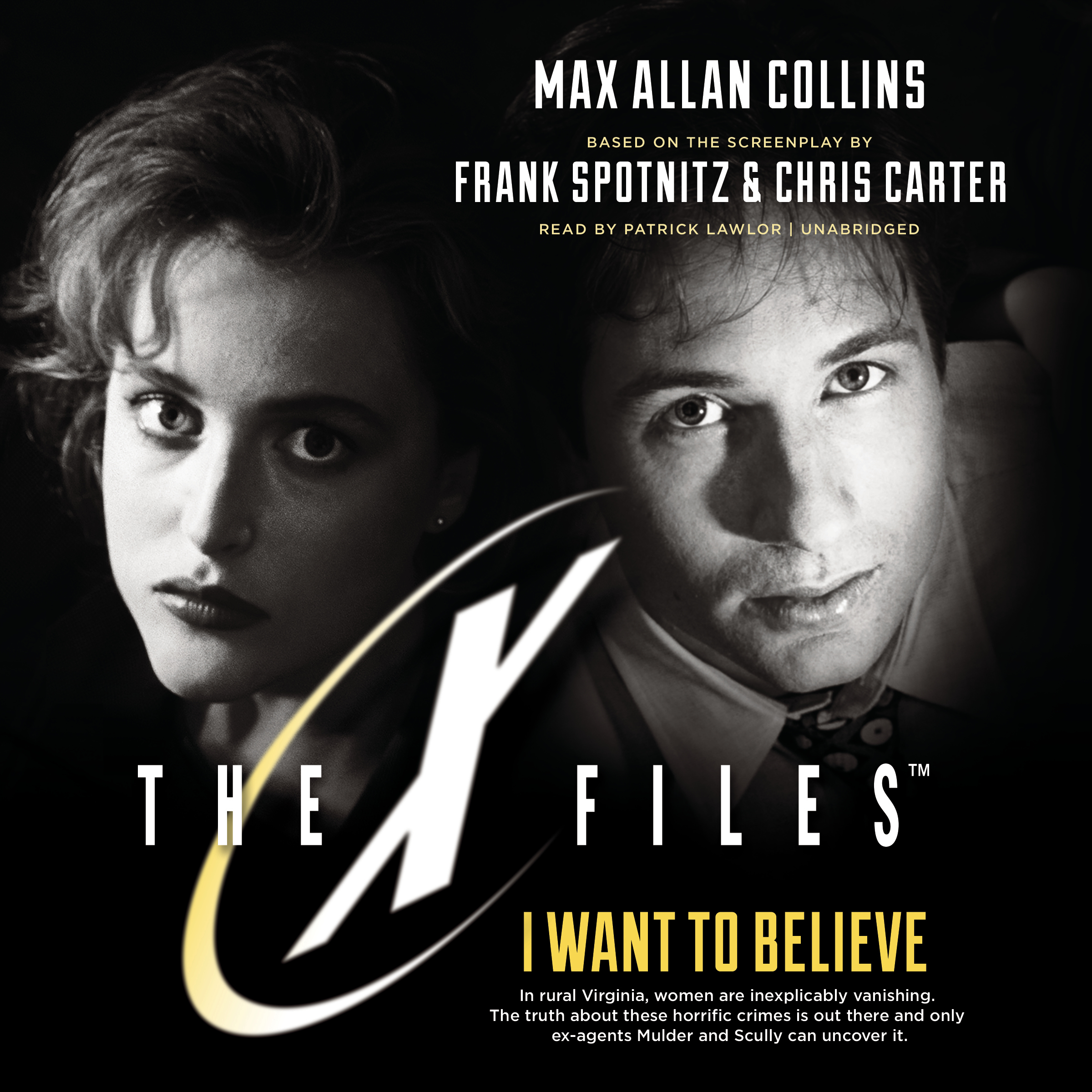 Printable I Want to Believe Audiobook Cover Art