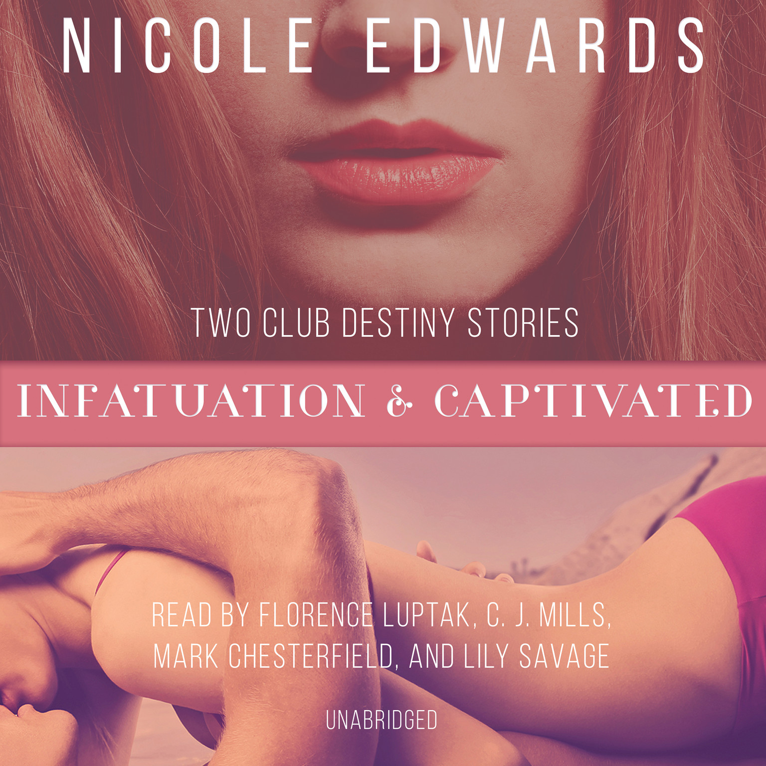 Printable Infatuation & Captivated Audiobook Cover Art