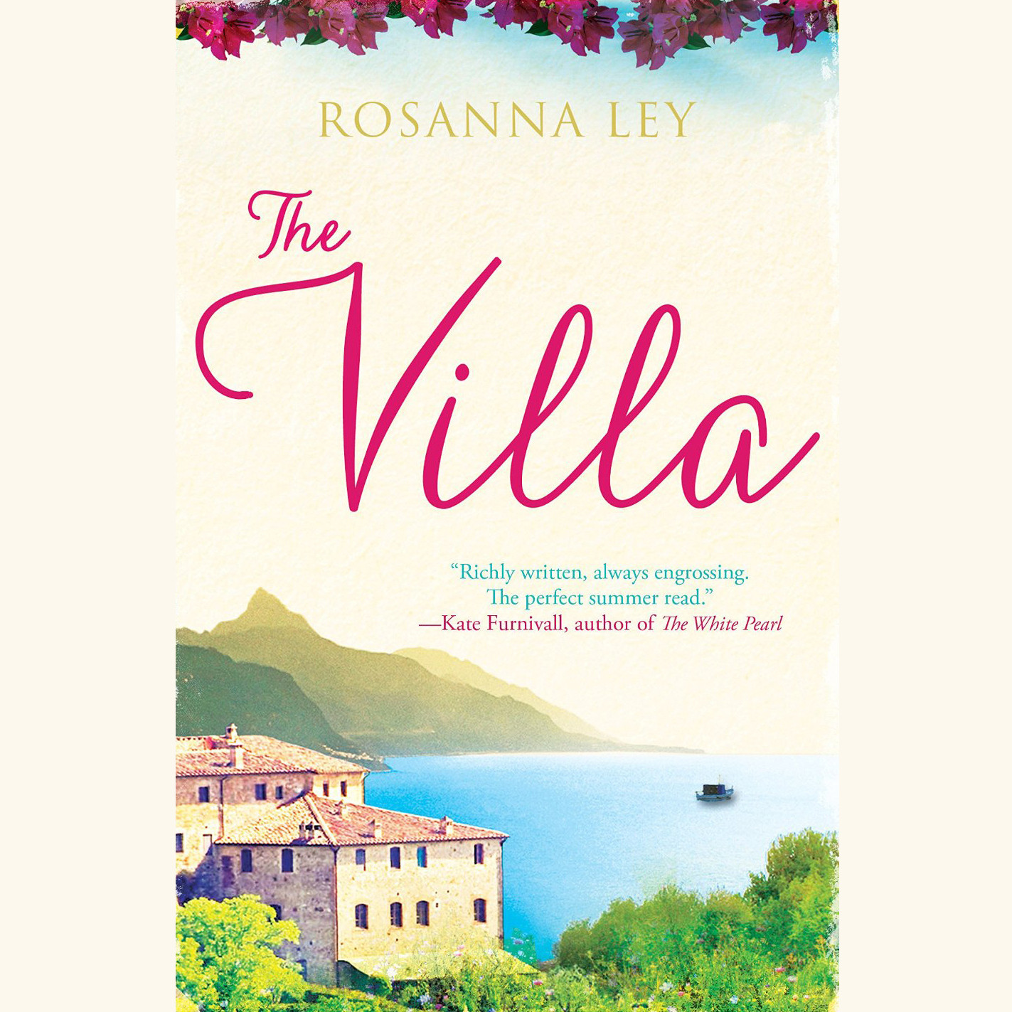 Printable The Villa Audiobook Cover Art