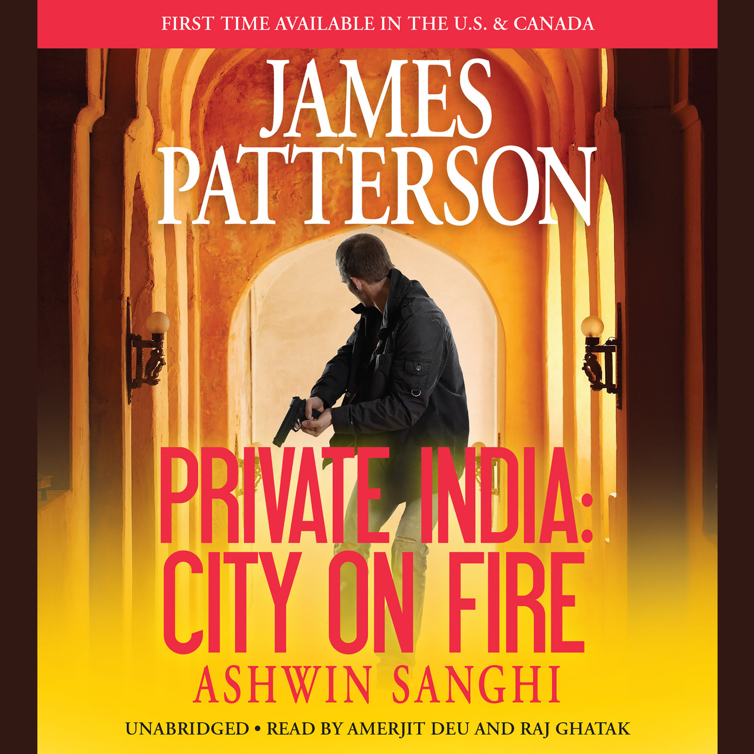 Printable Private India: City on Fire Audiobook Cover Art