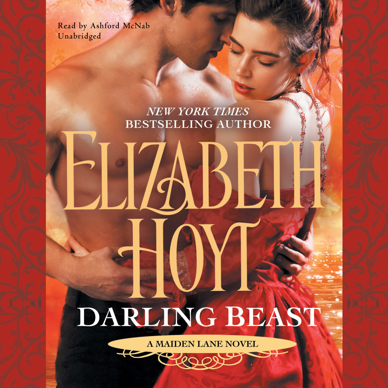Printable Darling Beast Audiobook Cover Art