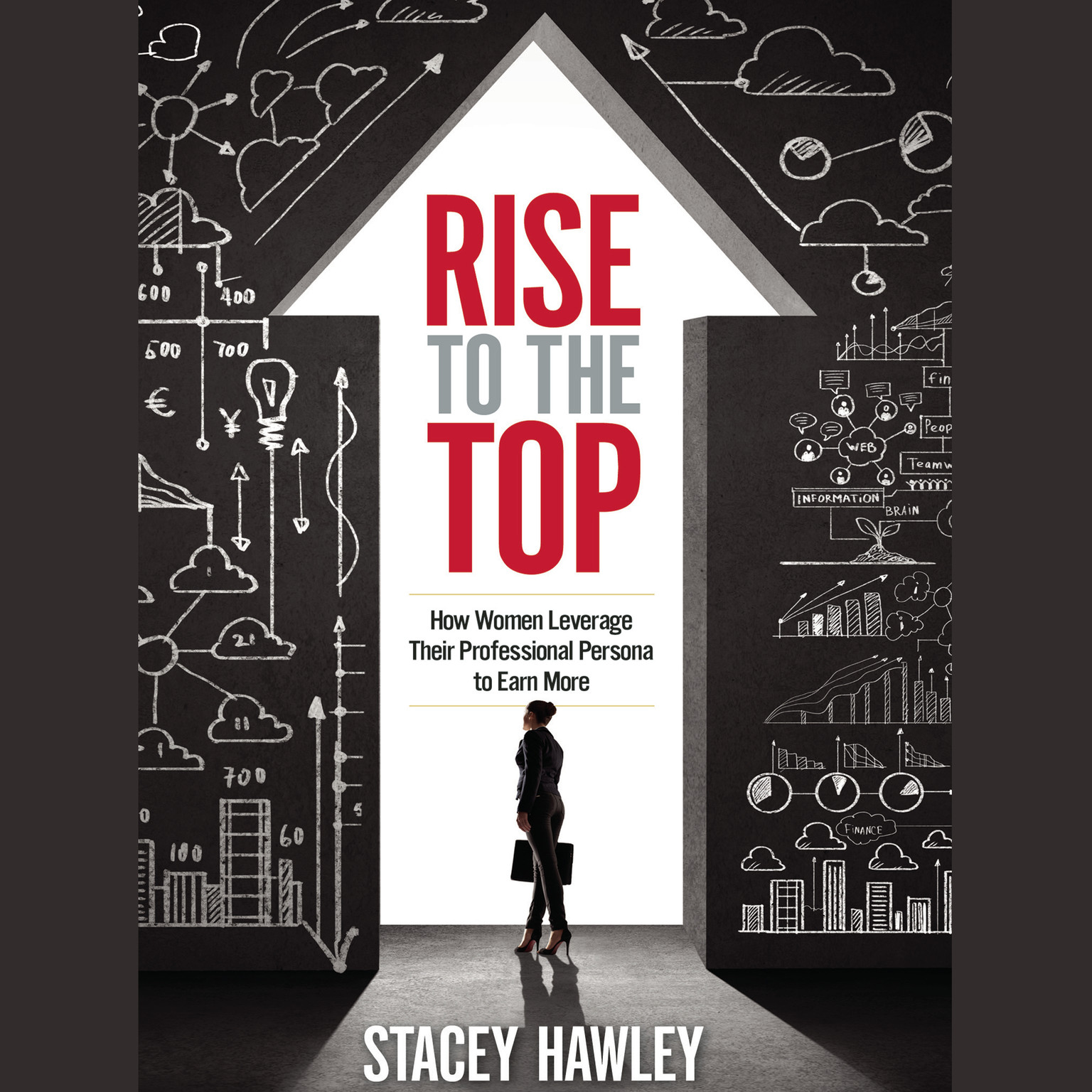 Printable Rise to the Top: How Woman Leverage Their Professional Persona to Earn More and Rise to the Top Audiobook Cover Art